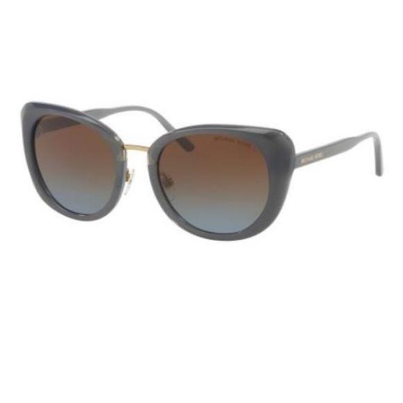 Michael Kors Lisbon Sunglasses in Gray Cat Eye